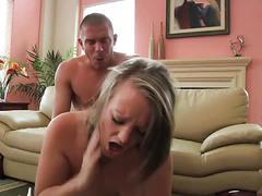 Busty cutie aliysa moore making love to her man