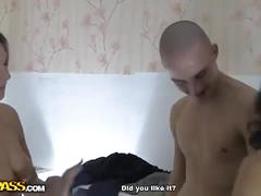 Amelia and her bff loves fucking this young guy