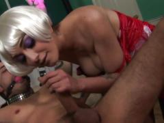 Mistress mai bailey orders dude what to do to her