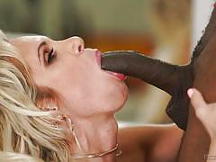 milf, blonde, big tits, ebony, interracial, blowjob, bbc, peter north, fame digital, sean michaels, nadia north