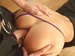 Blonde slut with a big ass
