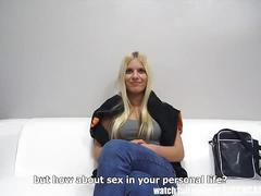 Gorgeous czech blonde gets banged pov style