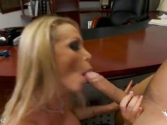 Nikki benz enjoys hot office fuck