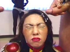 japanese, asian, abuse, facial, bukkake, blowjob