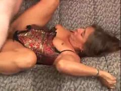Mature gets fucked