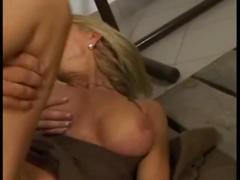 German blonde cougar milf hardcore anal public