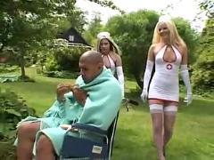 2 nurses blow the patient by snahbrandy