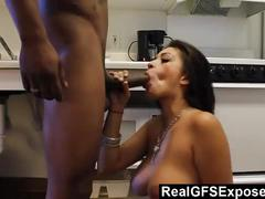 Cum thirsty slut exposed on the web