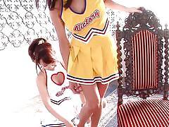 Hot cheerleaders have the hairiest cunts