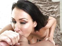 Experienced milf loves to suck your cock @ deep throat this! #75
