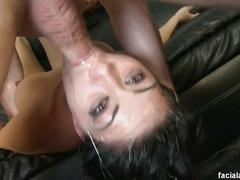 big tits, blowjob, brunette, pornstars, hd, big natural tits, black hair, blowbang, busty, deepthroat, face fucking, gagging, humiliation, pornstar