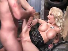Big tits mom helly mae gets banged