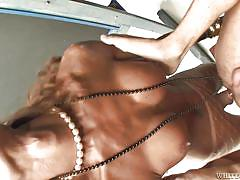 milf, condom, big tits, shemale, interracial, blowjob, anal sex, brown hair, transsexual, creole, fishnet pantyhose, transsexual roadtrip, fame digital