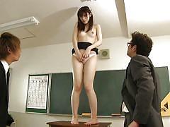 Kanako iioka is shamed by her boss in school
