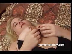 Bbw blonde gets her pussy pounded hard