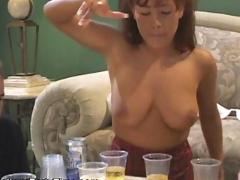 College party time group sex home 4 girls two man