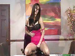 Tittyattack bigtits brunette pornstar mackenzee pierce hardcore s
