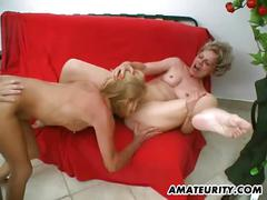 Mature housewives fucking a younger cock