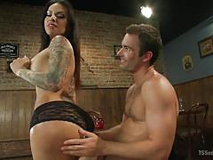Ts foxxy seducing a guy