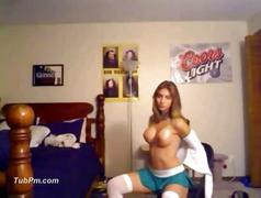 amateur, teen, webcam, pussy, hot, sexy, stockings, sweet, skirt