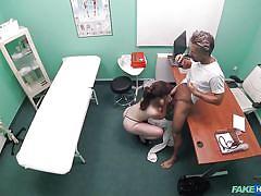 Nurse blows the doctor