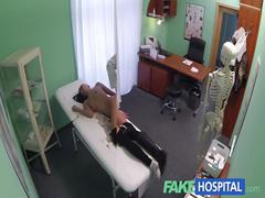 Fakehospital young woman with killer body caught getting fucked by doctor