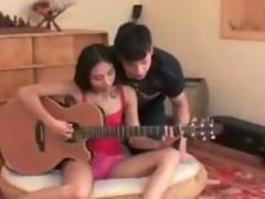 Fucking with guitar teacher part-1