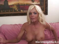 Blonde fox jordan blue gets banged by a black stud