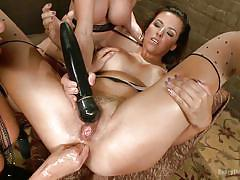 milf, lesbian, fisting, blonde, threesome, big tits, dildo, vibrator, pussy licking, brunette, anal insertion, everything butt, kink, ariel x, danica dillon, darling