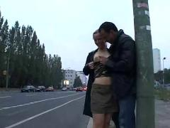 Public fuck with hot girl