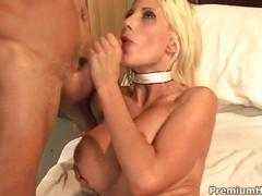 Busty blonde nurse puma swede fucks patient