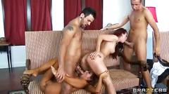 Karlie montana and madison ivy in group sex