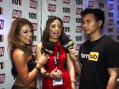 behind the scenes, las-vegas, big-tits, nevada, fake-tits, 2015-avn, avn-awards, award-show, interview, aee, entertainment, behind-scenes, pornhubtv