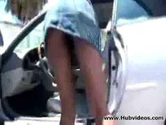 Ebony babe hydie waters public fucking 00