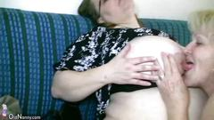 granny, mature, old and young, amateur