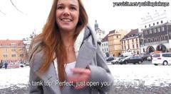 Amateur eurobabe dominika has sex for money