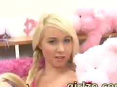 Blonde teen 18 years old part 1
