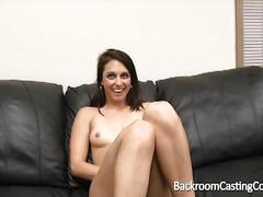 Innocent looking audrina tries out for porn