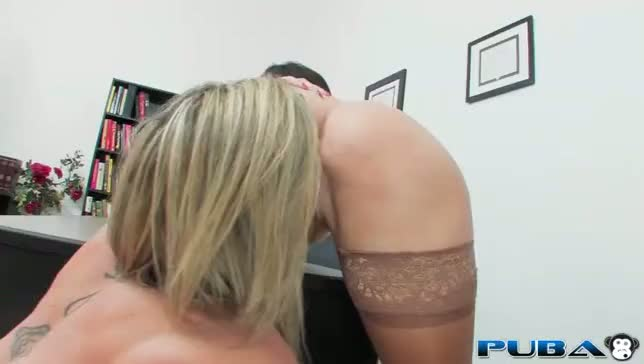 stockings, lesbian, office, big-ass, facesitting, big-tits, jay, james, jayden, sara