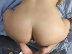 Pov of blonde whore buttfucked in prison