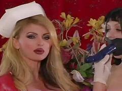Nurse taylor makes you blow joi