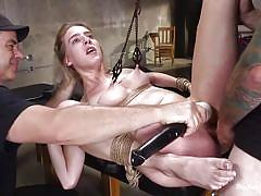 Cadence lux in the basement of the armory