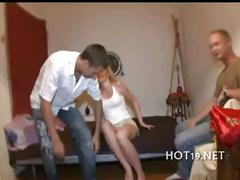 Teen fucks with stranger