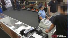 Ms police officer fucked with a pawn man