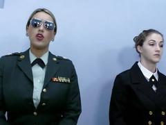fetish, lesbian, kink, brunette, tickling, big tits, ticklish, laughing gas, nitrous oxide, n2o, giggle gas, military, army, navy, wrestling, lesbian catfight, superheroine, uniform military, terra mizu