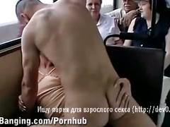 Rampant sex on the bus