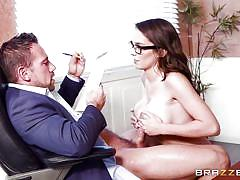 Horny teacher really loves those schoolgirl titties
