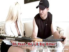 Gina lynn loves baseball coaches!