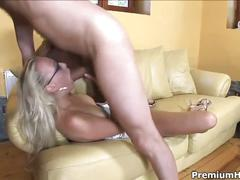 Carla cox takes a huge cock