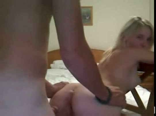 Teen couple fucking on cam